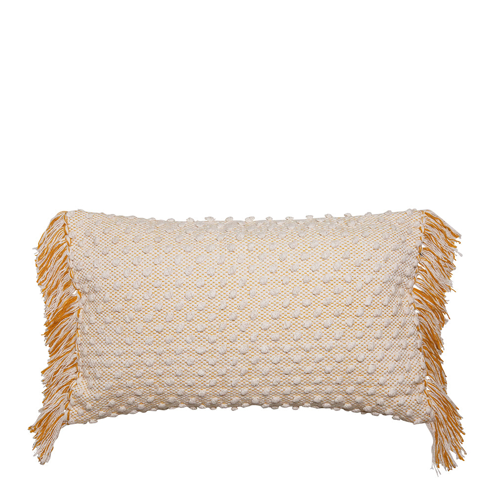Bonnie Cushion Ivory/Black 35 x 55cm
