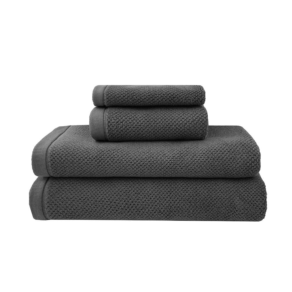 Angove Bath Towel Range - Charcoal Face Washer