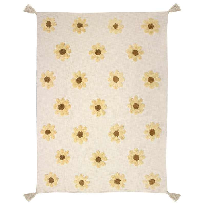 Daisy Throw SOLD OUT