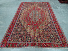 AFGHAN KELIM  FLAT WOVEN TRADITIONAL RUG SIZE. 202 X 309 CM    #2000