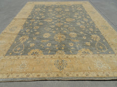 AFGHAN HANDMADE  CHOBI RUG SHEEP WOOL, VEGETABLE DYES  278 x 360 CM  #4239