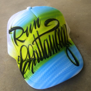 Run Chattanooga Trucker Hats