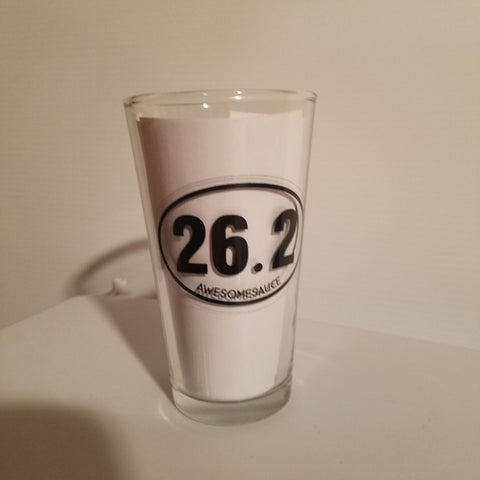 26.2 Pint Glass