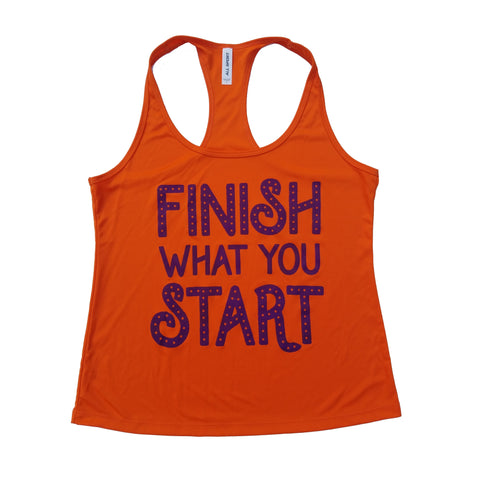 Finish What You Start Dry Fit Tank Top