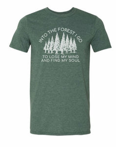 Into the Forest short sleeve T-shirt