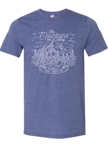 The Mountains are Calling short sleeve T-shirt