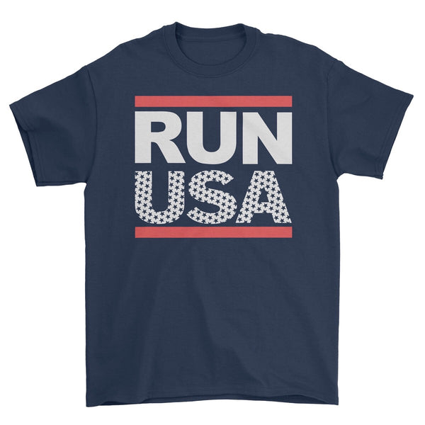 RUN USA Unisex T-shirt or Dry Fit Shirt