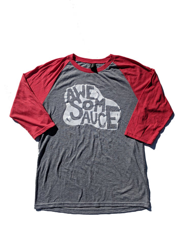 Awesomesauce - Unisex Baseball Shirt