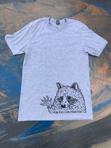 High Five Raccoon Short Sleeve Tee