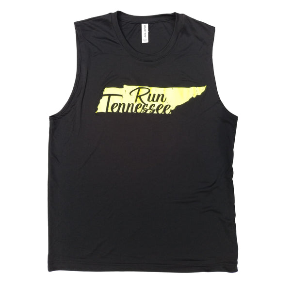 Run Tennessee Men's Dry Fit Tank Top