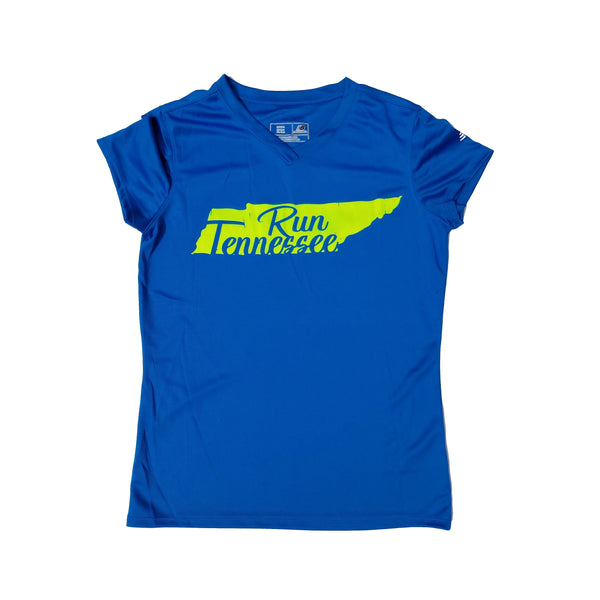 Run Tennessee Women's Dry Fit Shirt