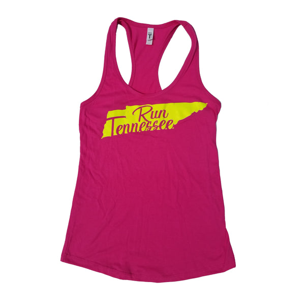 Run Tennessee Women's Tank Top