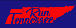 Run Tennessee Sticker