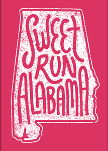 Sweet Run Alabama Sticker