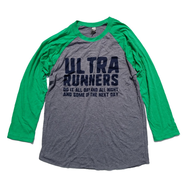 Ultra Runners Baseball Grey/Green