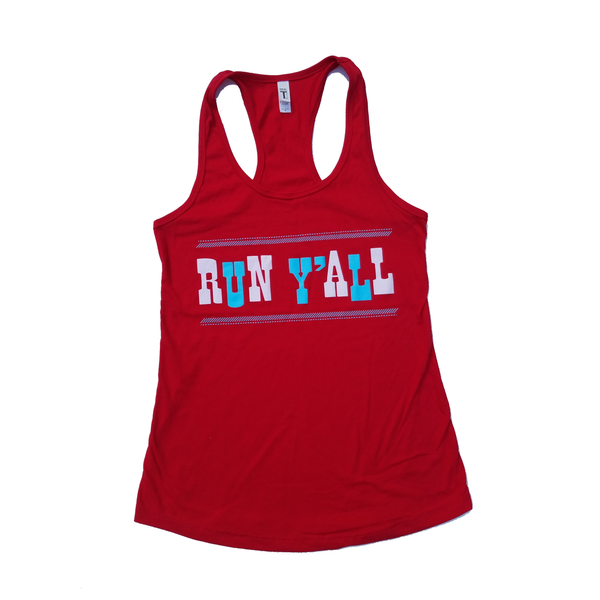 Run T'all Tank Top