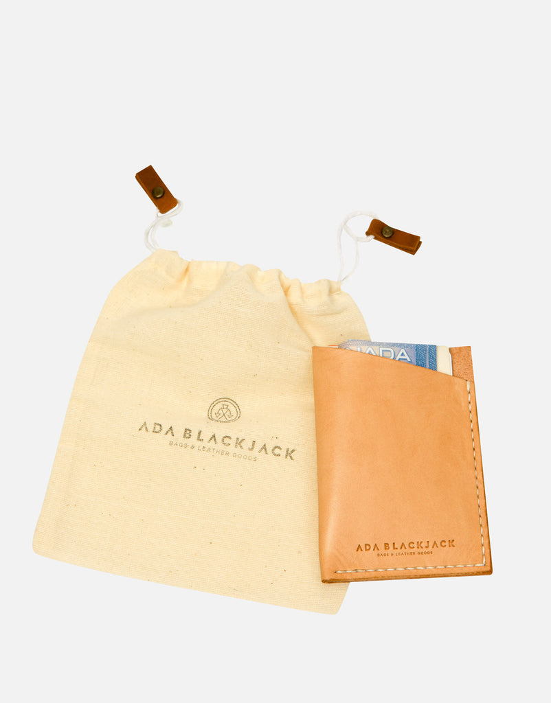 Ada Blackjack Natural Card Holder