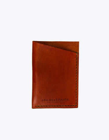 No. 5 - Card Holder, Cinnamon
