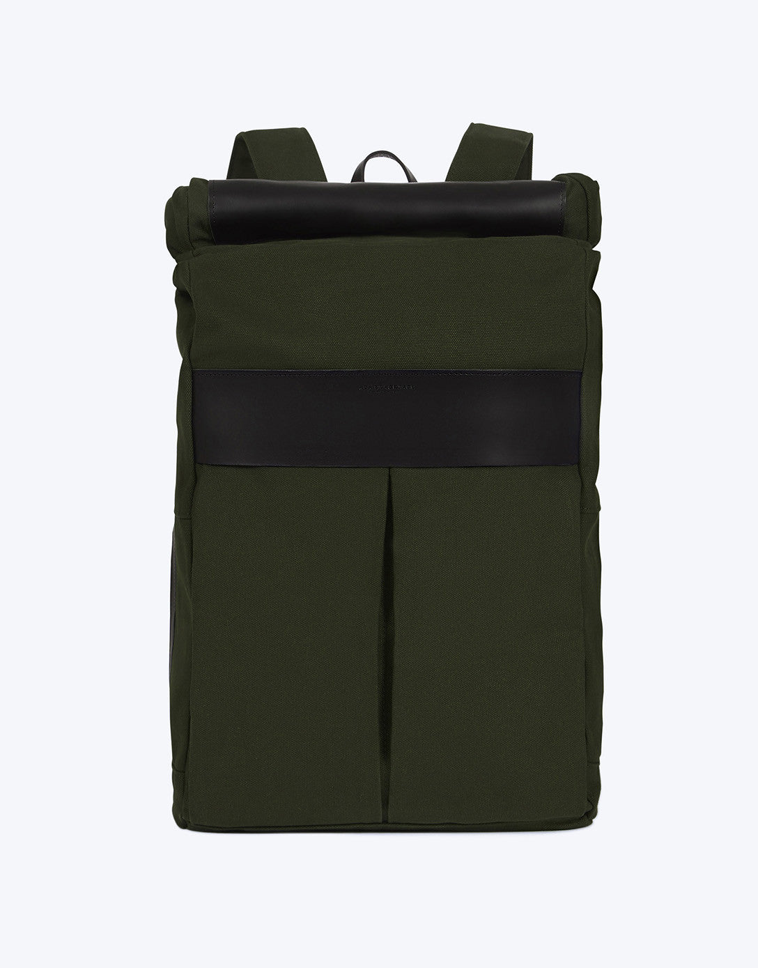 No. 7 - Roll Top Backpack, Green