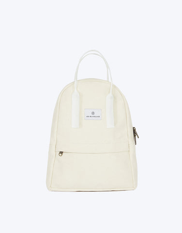 No. 6 - Backpack, White