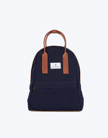 No. 13 - Backpack, Dark Blue Wax