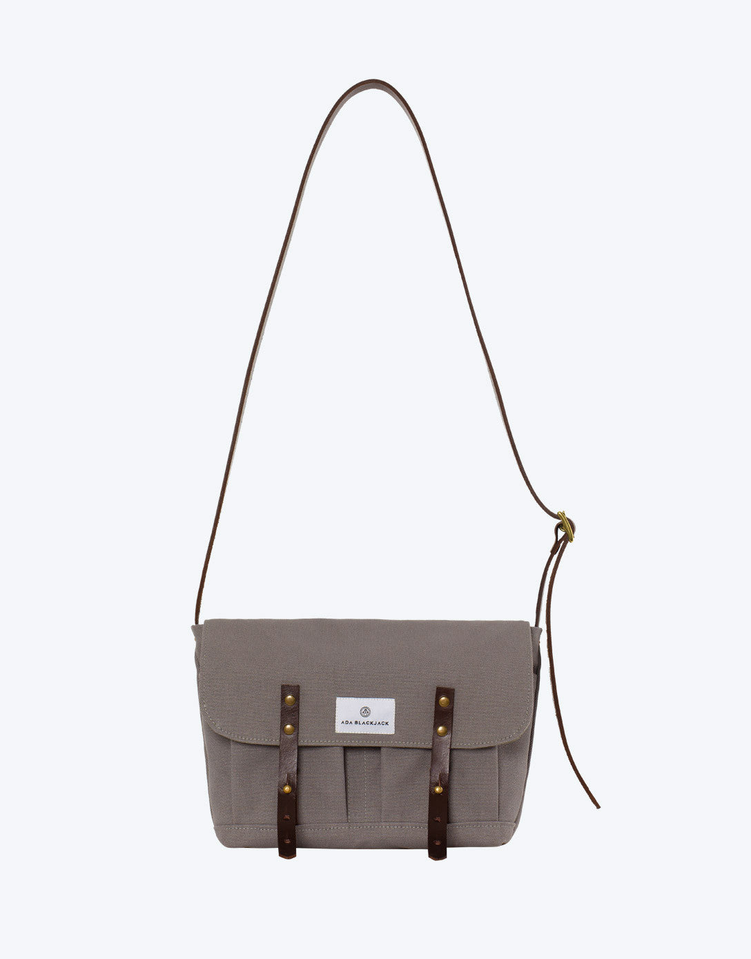 No. 10 - Satchel, Grey