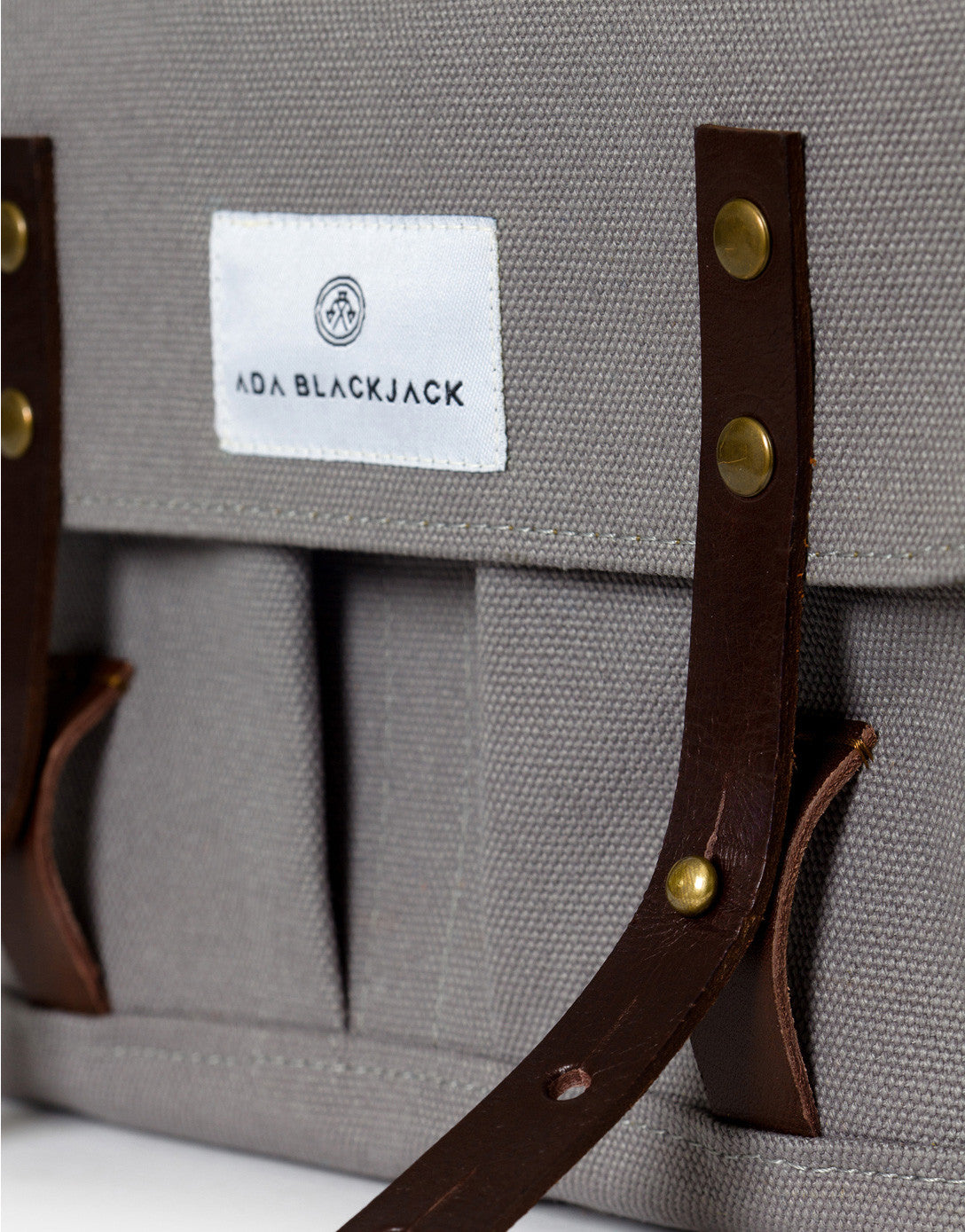 Ada Blackjack Grey Satchel