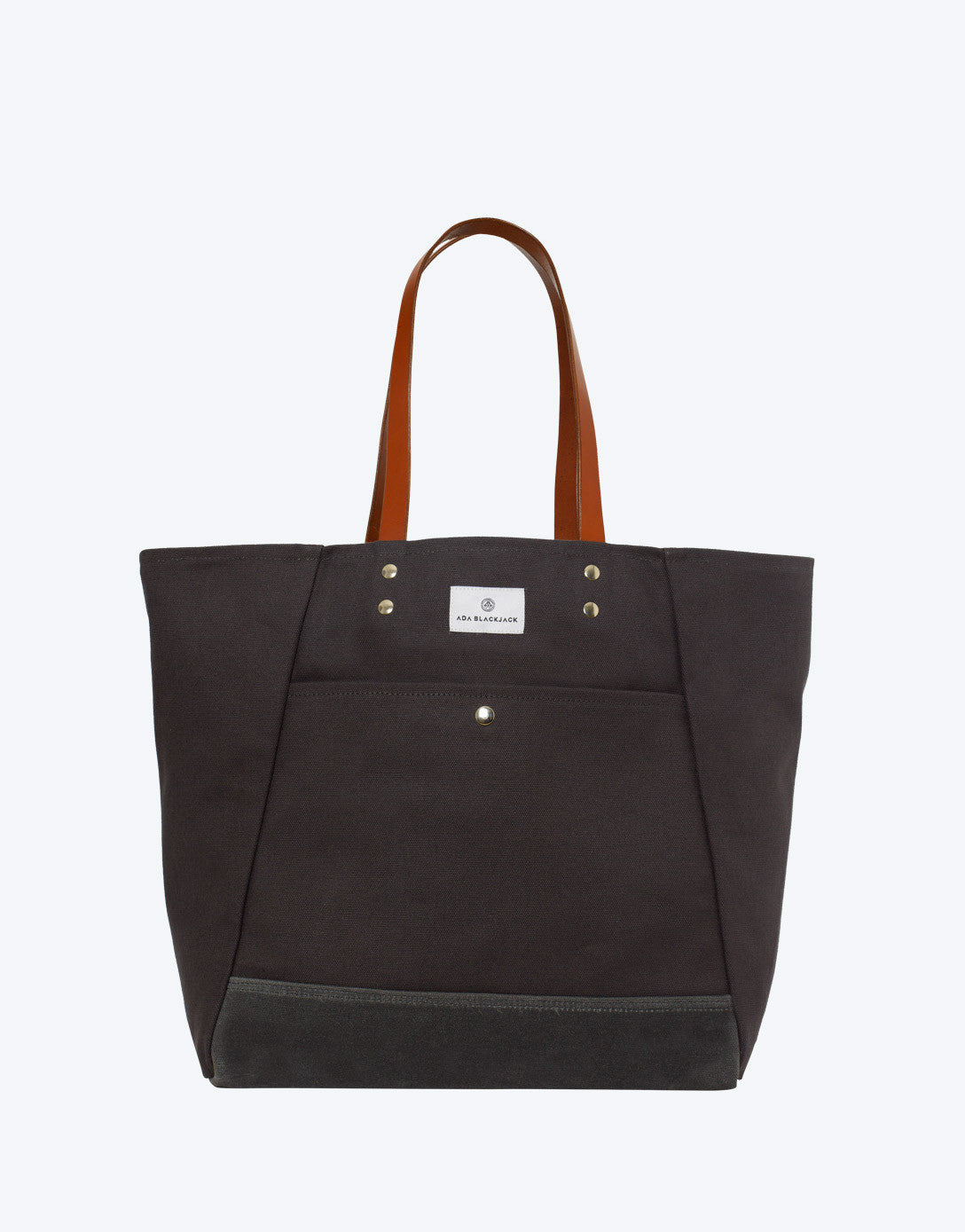 No. 3 - Tote, Dark Grey