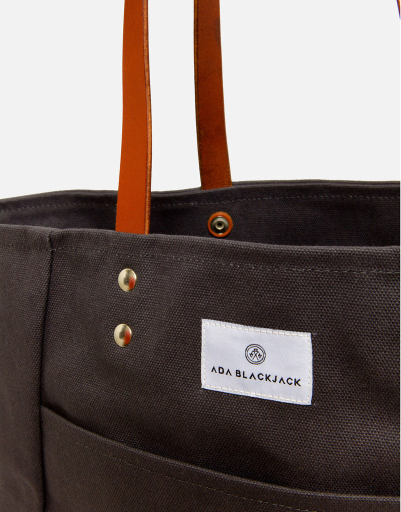 Ada Blackjack Dark Grey Tote