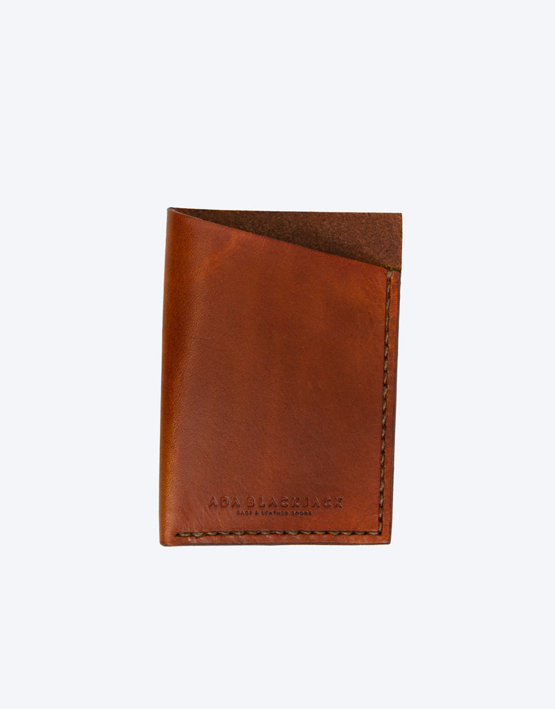 No. 5 - Card Holder, Brown