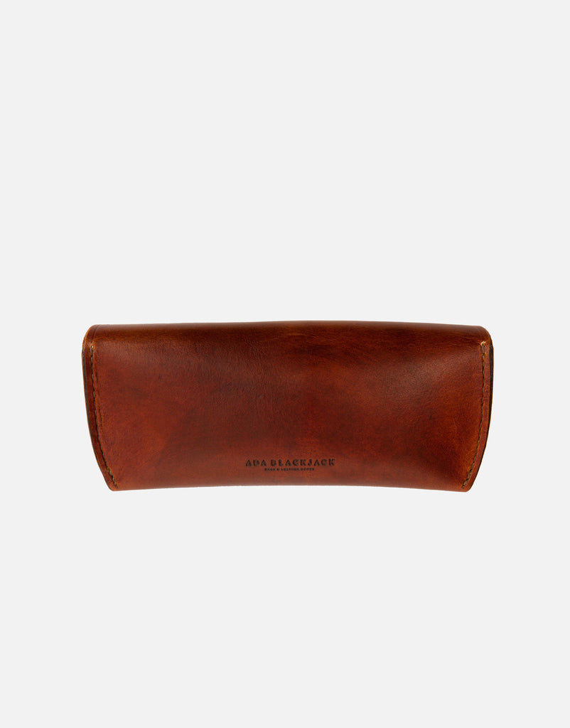 Ada Blackjack Brown Eyewear Case