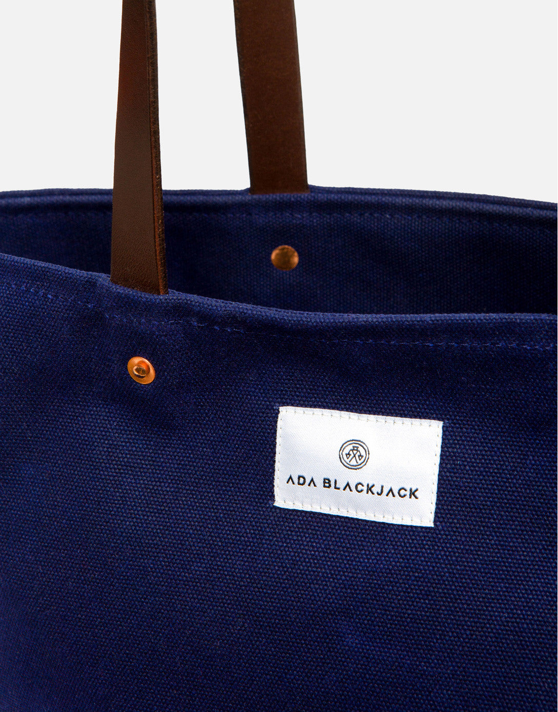 Ada Blackjack Dark Blue Slim Tote