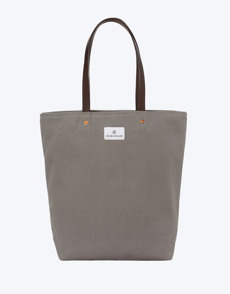 No. 9 - Slim Tote, Grey