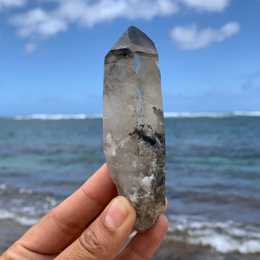 Phantom Lemurian Quartz Crystal #106