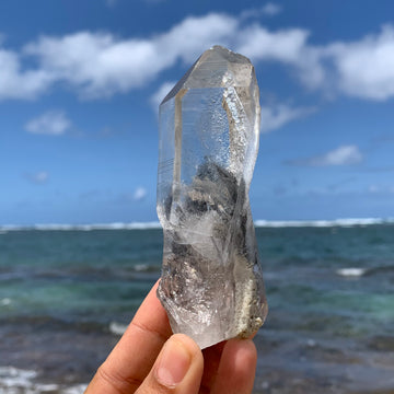 Phantom Lemurian Quartz Crystal #108