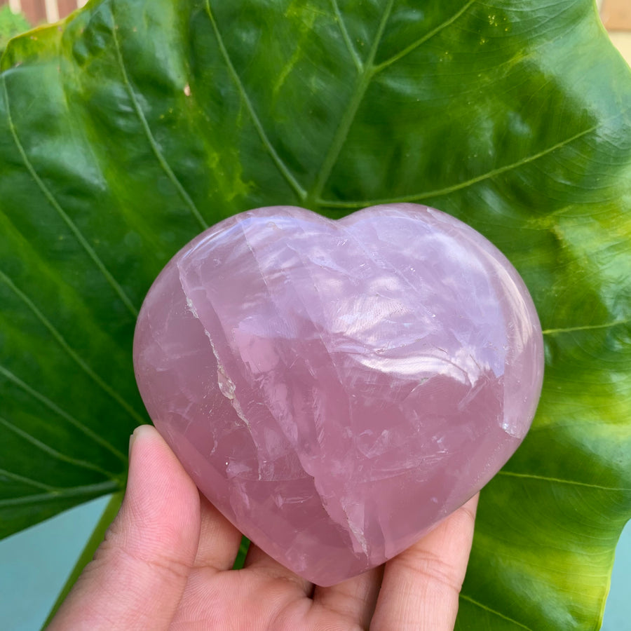 Rose Quartz Heart #5