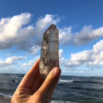 Smoky Lemurian Quartz Crystal #43