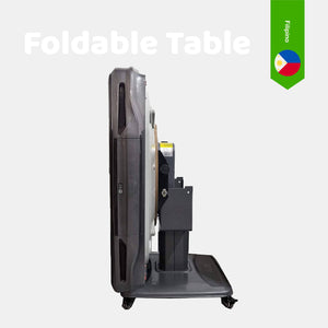Filipino Foldable Pedestal table