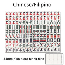 Load image into Gallery viewer, (44mm Numbered Tiles) 152 Chinese/Filipinos Tiles SOLOR Folding Automatic Mahjong Table with Wheels Drawers