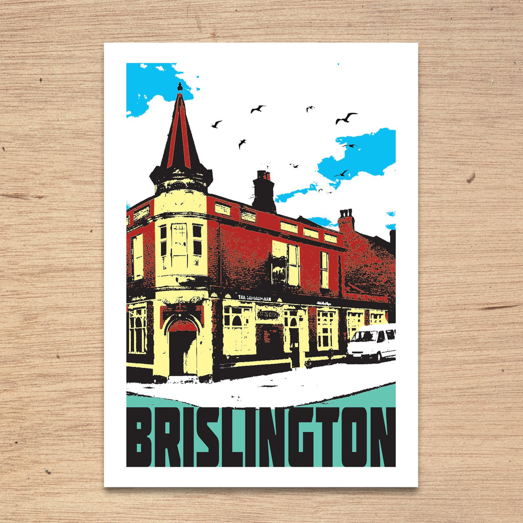 Bristol Districts Print by Susan Taylor at The Bristol Shop
