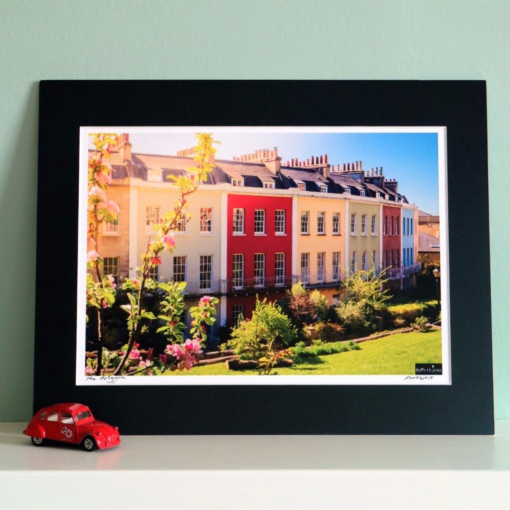 The Polygon Framed Photographic Print by PorthJess