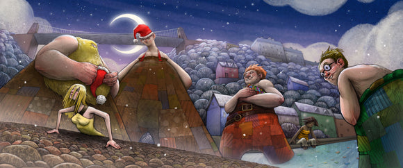 The Bristol Giants Save Christmas Children's Book