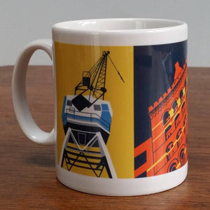 Bristol Architecture Mug by Susan Taylor Art | The Bristol Shop