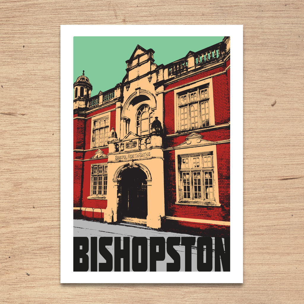 Bishopston Bristol, A4 Print by Susan Taylor Art | The Bristol Shop