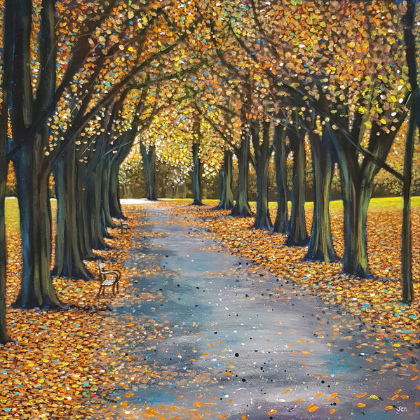 Autumn in Bristol Painting by Jenny Urquhart at The Bristol Shop