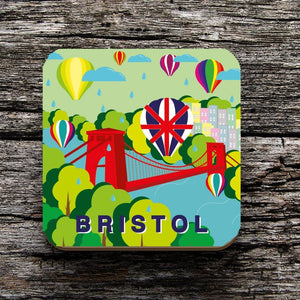 Bristol Balloon Fiesta Coaster by Adriana Barrios | The Bristol Shop