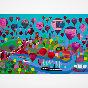 Bristol Belle - Giclée Print by Jenny Urquhart at The Bristol Shop