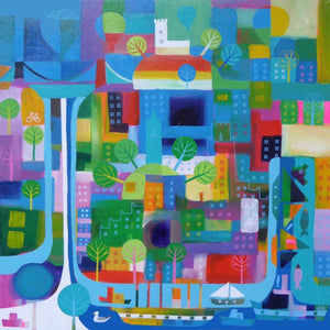 Bristol Colours - Giclée Print by Jenny Urquhart at The Bristol Shop