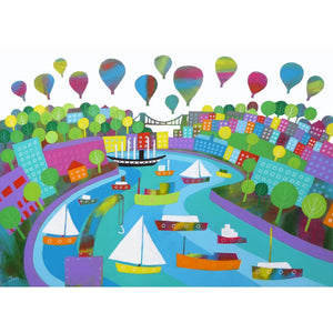Bristol Harbour Festival - Giclée Print by Jenny Urquhart | The Bristol Shop