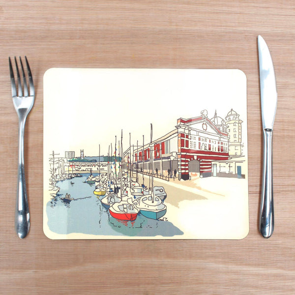 Bristol Harbourside Placemat by Rolfe & Wills | The Bristol Shop